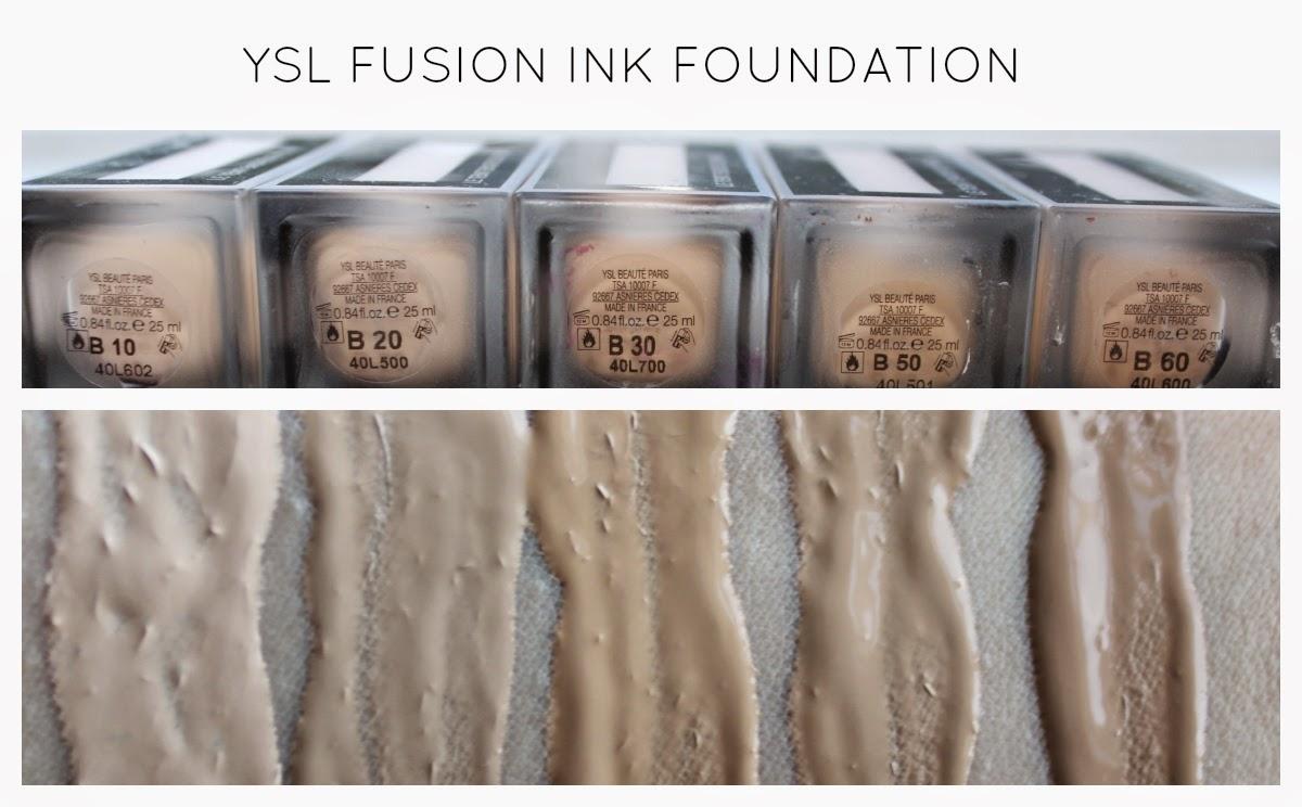 beautiful me plus you ysl le teint encru de peau aka ysl fusion ink foundation review. Black Bedroom Furniture Sets. Home Design Ideas