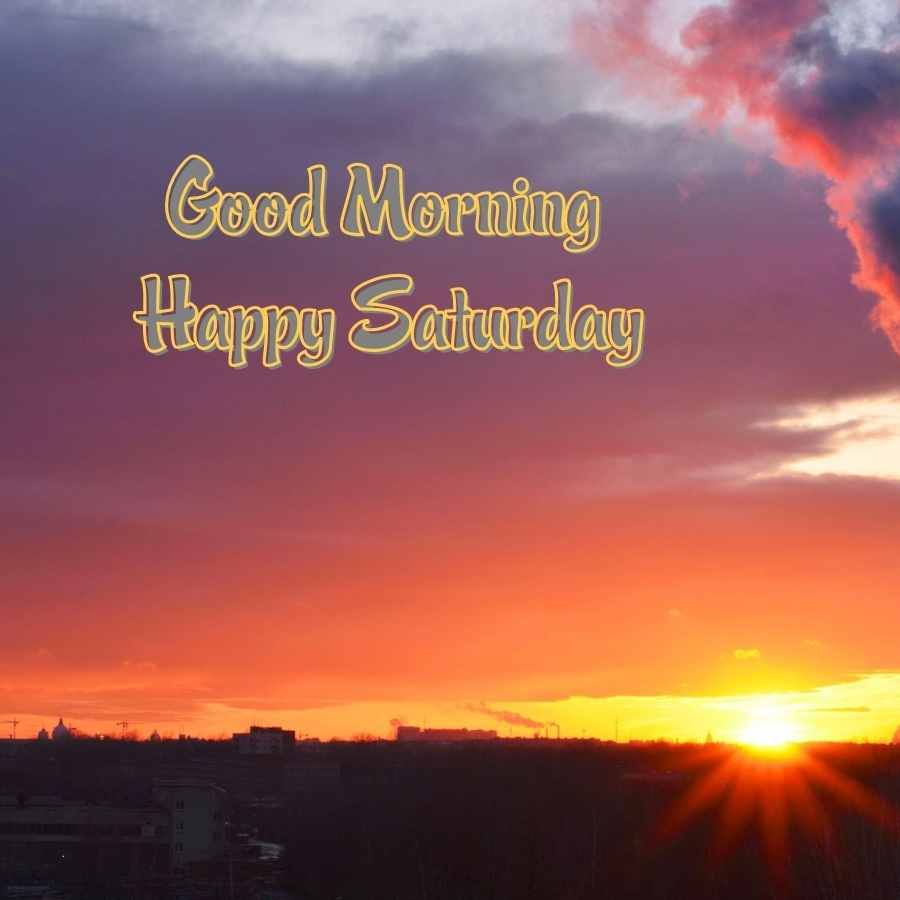 saturday good morning images in hindi