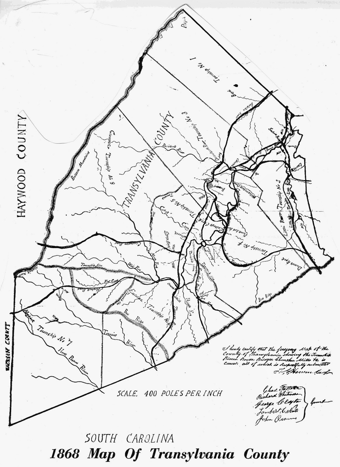 The Rowell Bosse North Carolina Room: First County