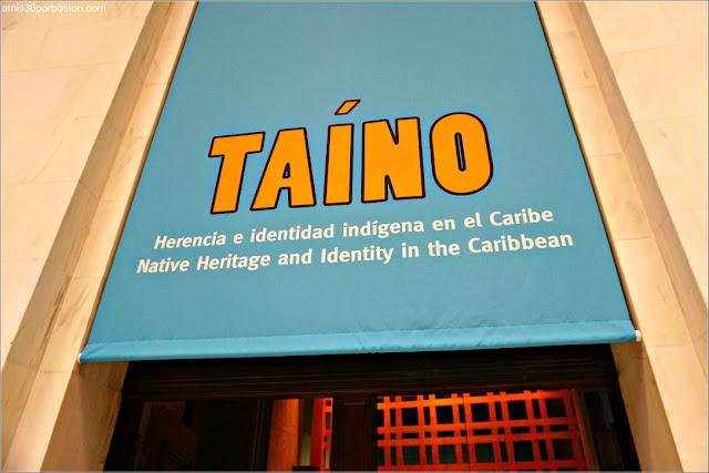 Exposición de los Taínos en el Museo Nacional de los Indios Americanos en Nueva York