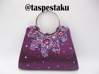 Tas Pesta Clutch Bag Ungu