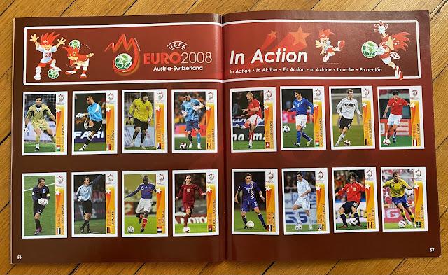 figurine in azione euro 2008