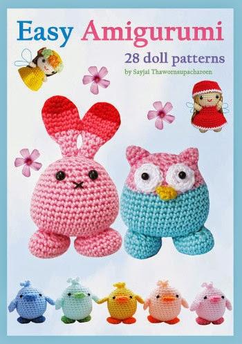 Amigurumi Maneki Neko Free Pattern : Easy Amigurumi: 28 Doll Patterns - Sayjai Amigurumi ...