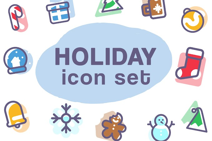 Holiday Icon Set Graphic