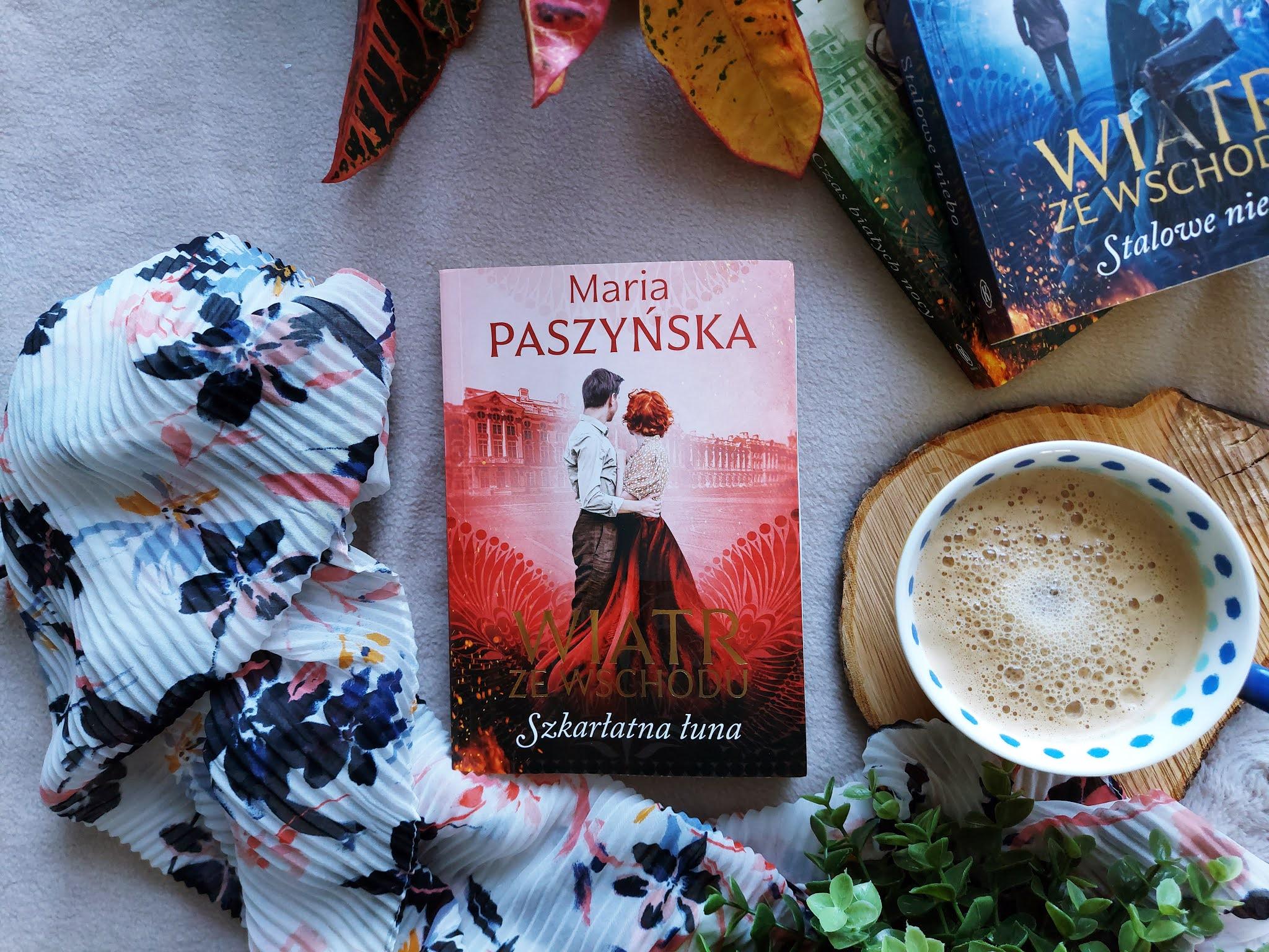 """Kiedy pojawi się """"Szkarłatna łuna"""" Maria Paszyńska"""