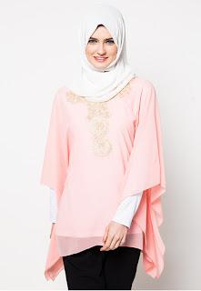 Baju Atasan Muslim Modern Model Terbaru Yang Sesuai Trend