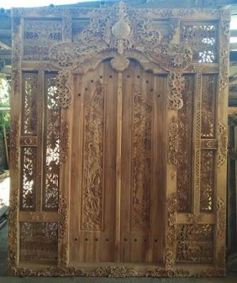 Ukiran Gebyok Bali