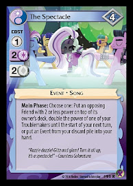 My Little Pony The Spectacle Marks in Time CCG Card