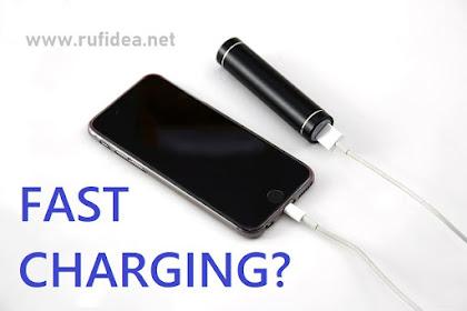 Fast Charging pada smartphone [Pembahasan singkat]