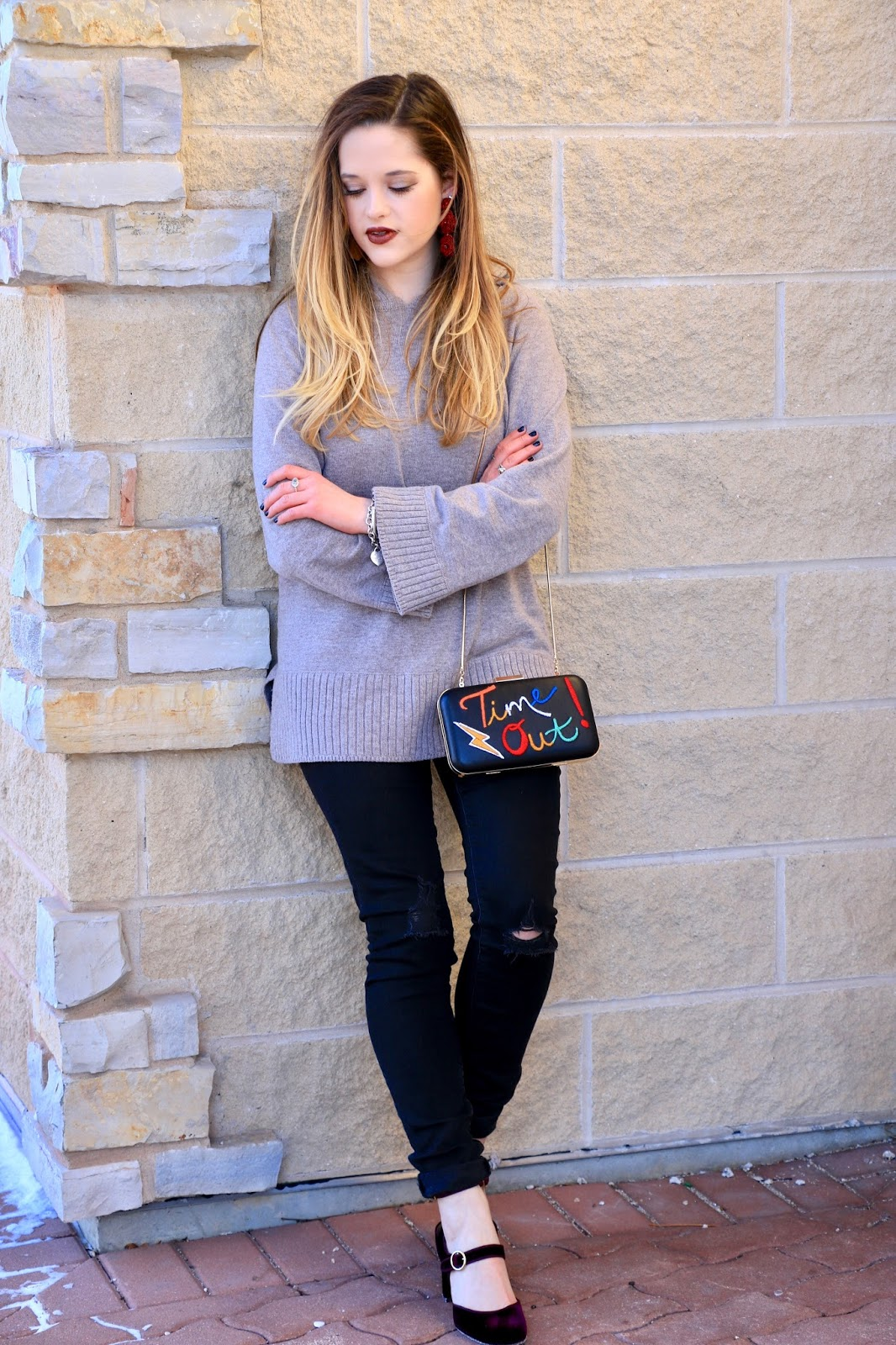 Nyc fashion blogger Kathleen Harper's hoodie outfit ideas