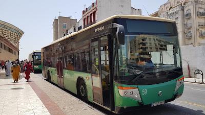 bus per il centro