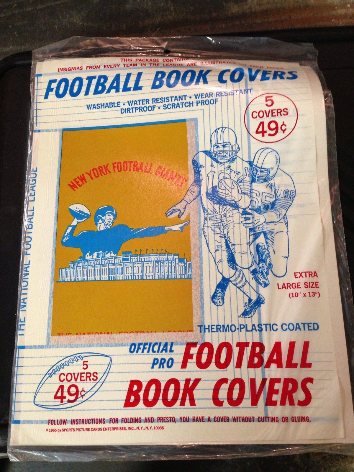 the fleer sticker project back to with nfl and afl book