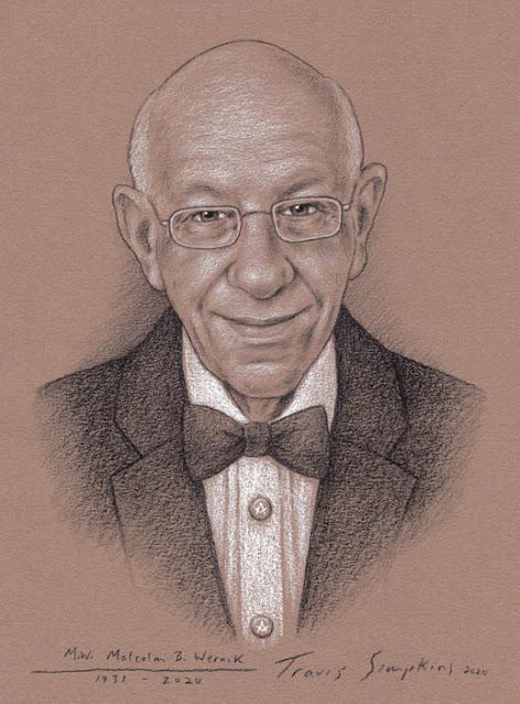 M.W. Malcolm B. Wernik. Past Grand Master. Grand Lodge of New Jersey. by Travis Simpkins