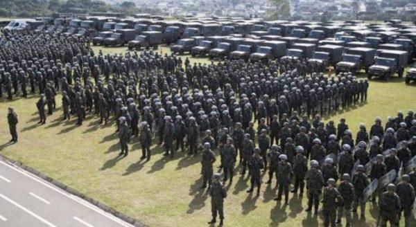 Guerra civil declarada no Brasil - OAB a favor do povo - Boato