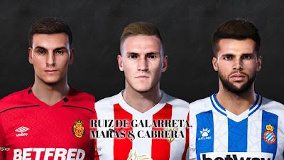 PES 2021 Facepack La Liga SmartBank Vol 10 by Dani