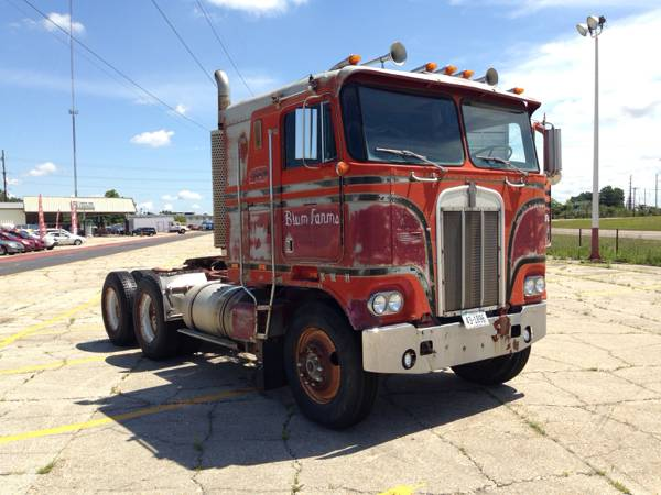 1978 Kenworth K100 Cabover Tractor Truck