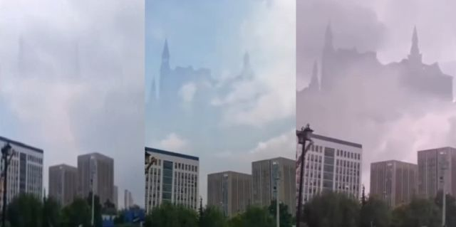 Floating Hologram Cities are Back Over Chinese City Ghostly-castle-sky-phenomenon-china