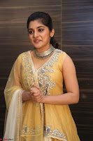 Nivetha Thamos in bright yellow dress at Ninnu Kori pre release function ~  Exclusive (67).JPG