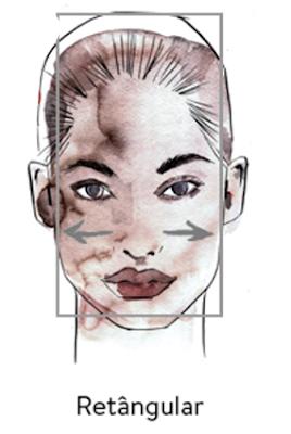 rosto-retangular