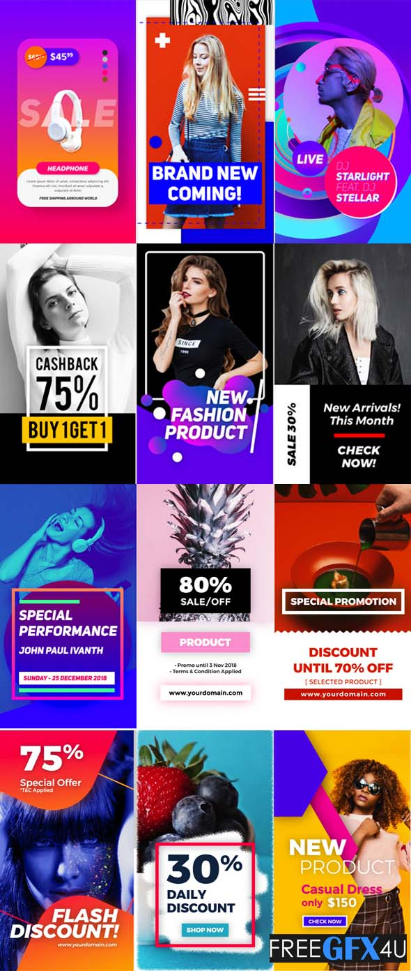 Videohive - Instagram Stories Promo
