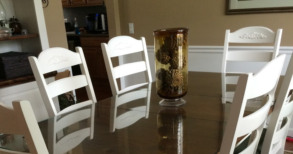 Chair Seat Covers At Walmart Track Chairs For Wounded Veterans Diy Midwest Home Renovation: Rustoleum Painter's Touch Heirloom White Re-finished Broyhill ...