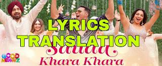 Sauda Khara Khara Lyrics in English | With Translation | – Good Newwz