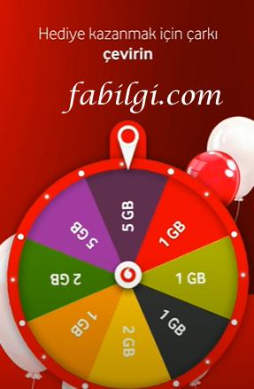 Vodafone Çark Hilesi Modlu Yanımda Uygulaması Bedava İnternet