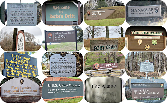 Great battlefields from around the world, Fort Sumter, Stones River, The Alamo, Rorke's Drift, South Africa and more