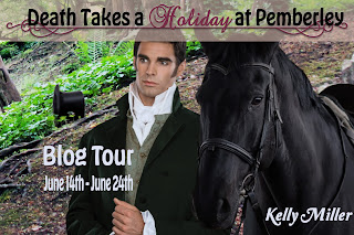 Blog Tour: Death Takes a Holiday at Pemberley by Kelly Miller