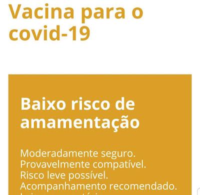 Quem amamenta pode tomar a vacina contra Covid?