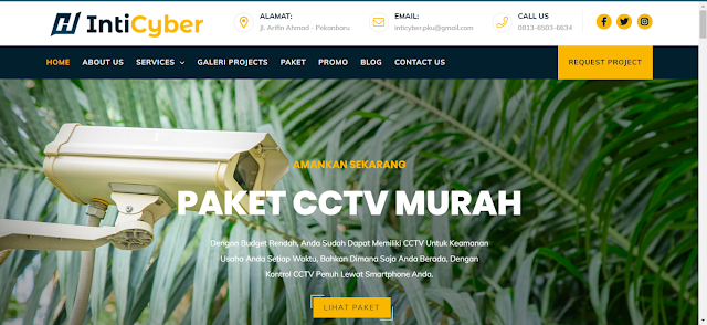 Rekomendasi Tempat Pasang Kamera CCTV di Pekanbaru