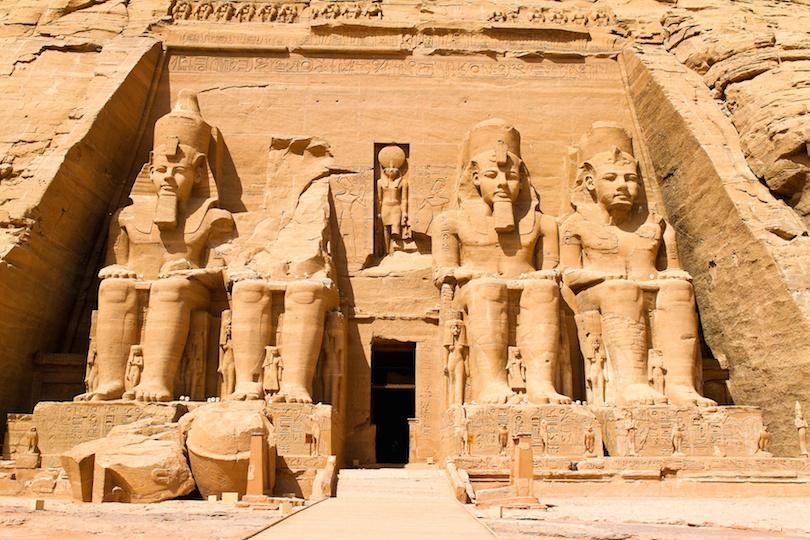 اجمل المعابد الفرعونية في مصر