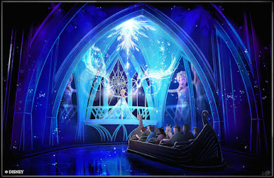 Elsa and Frozen Come to Disney World
