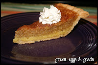 No ordinary pumpkin pie
