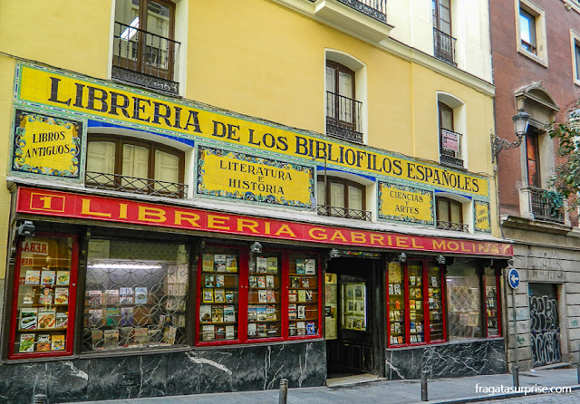 Madri, Livraria Gabriel Molina