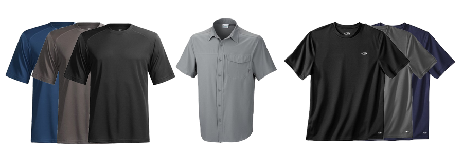 Men's budget travel shirts