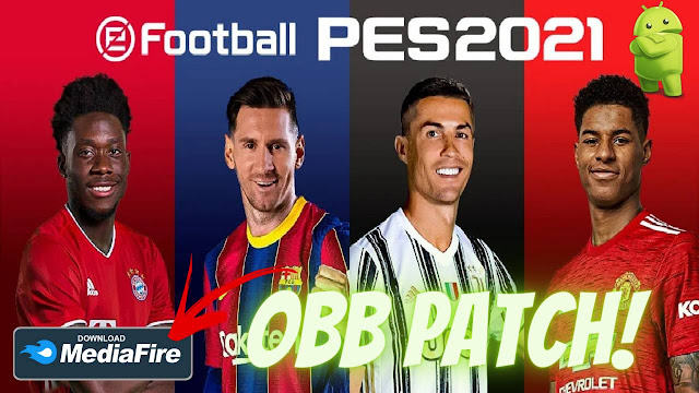 Download eFootball PES 2021 Android Graphics Patch