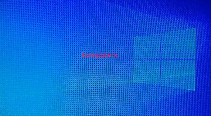 tampilan desktop windows 10 bersih dari virus