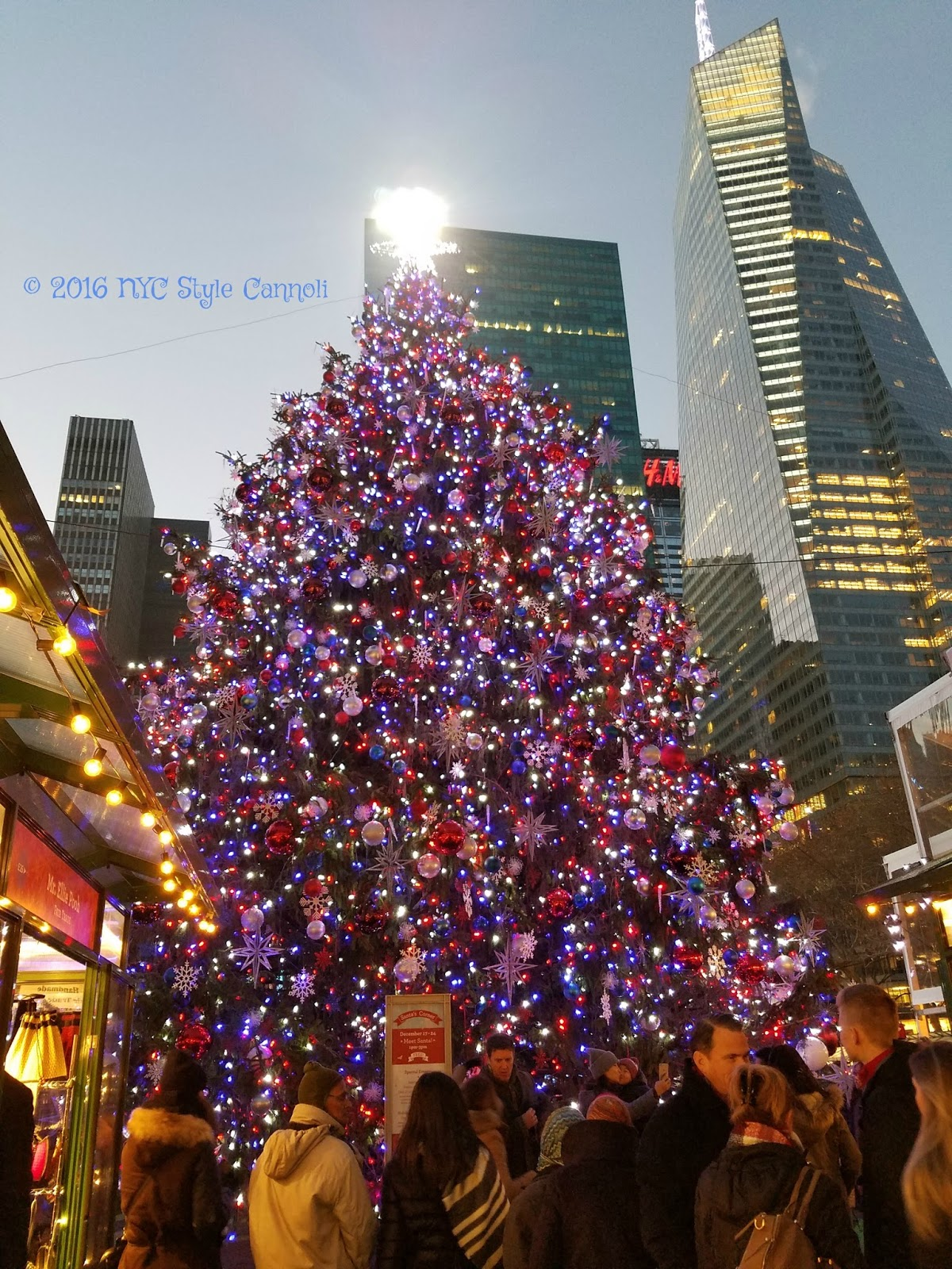 christmas eve in bryant park is pure bliss