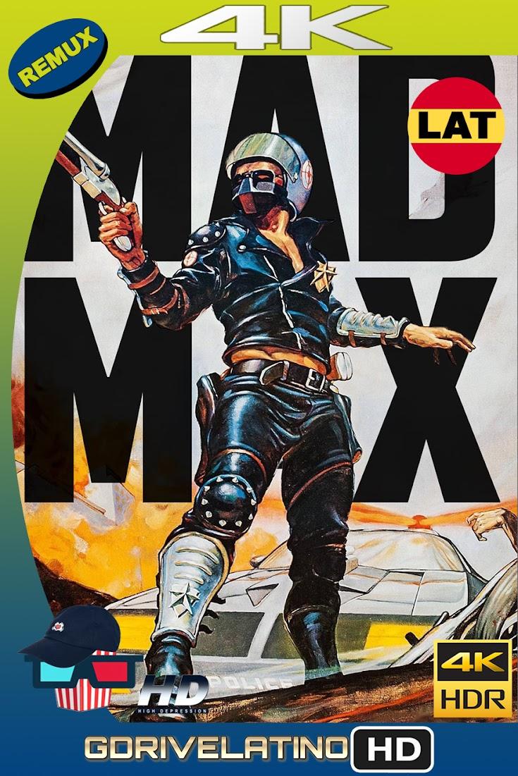 Mad Max : Salvajes de Autopista (1979) BDRemux 4K HDR Latino-Ingles MKV