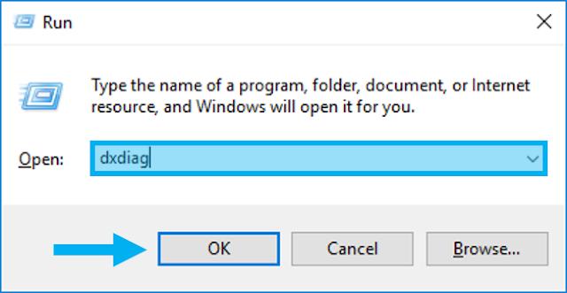 Mengaktifkan Windows Run