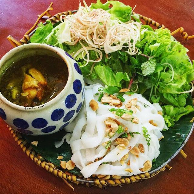 Mì quảng ếch - Đà Nẵng