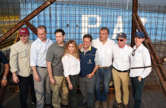 Rubio: Contenedores en el Puente Tienditas no impedirán que ingrese la ayuda humanitaria