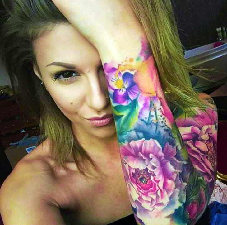 100 Fascinantes Tatuajes De Acuarelas Que Te Harias Hoy Mismo