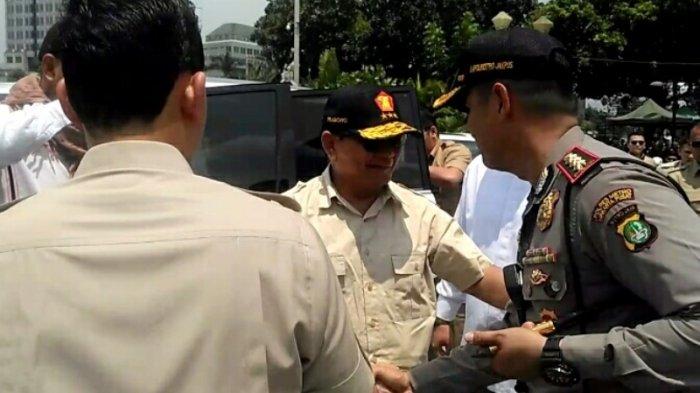 Kehadiran Prabowo Subianto pada Aksi Bela Rohingya 169 Disambut Takbir