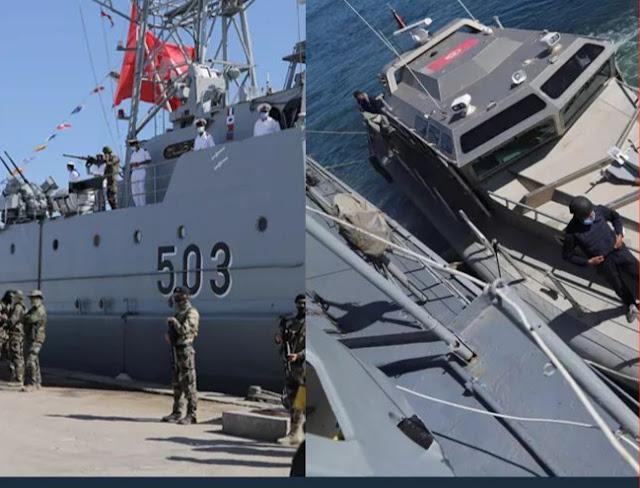 المهدية : تركيز خافرة عسكرية لانقاذ مراكب الصيد