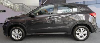 Honda HRV Warna Modern Steel Metallic
