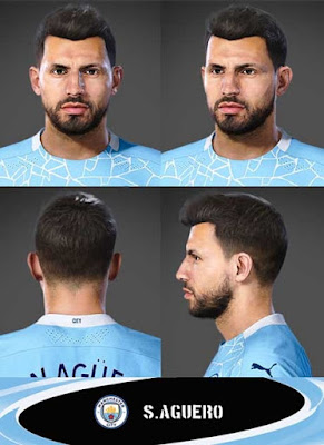 PES 2021 Faces Sergio Aguero