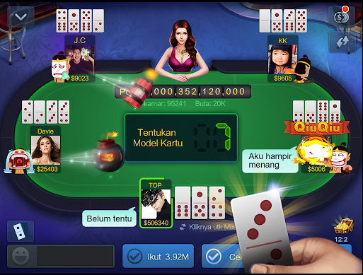 Cara main Domino99 Qiu Qiu Online Dominoqq Pkv