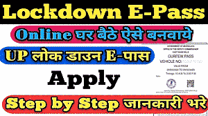 up lockdown e pass online registration and track your application